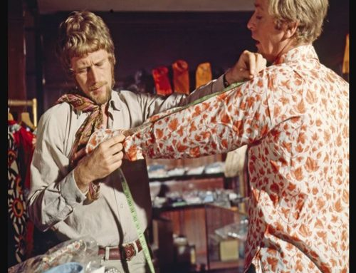 The Italian Job – The Mr Fish Legacy & THAT Doug Hayward Beige Linen Suit | #125