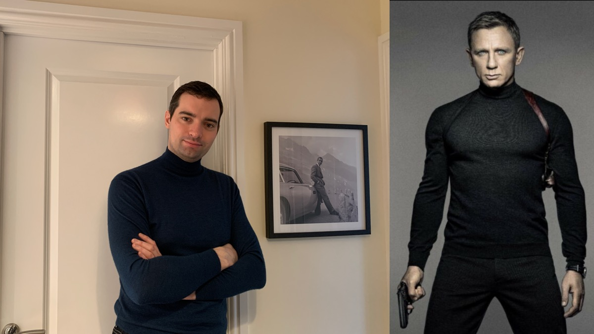 Turtle Neck Sweater Spectre POster