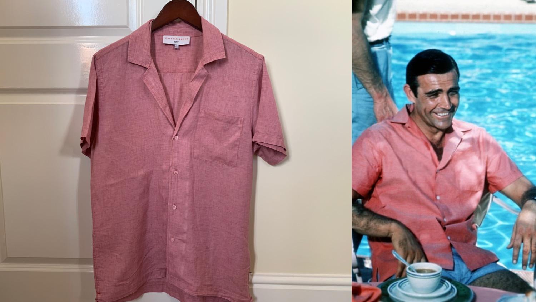 Thunderball pink shirt