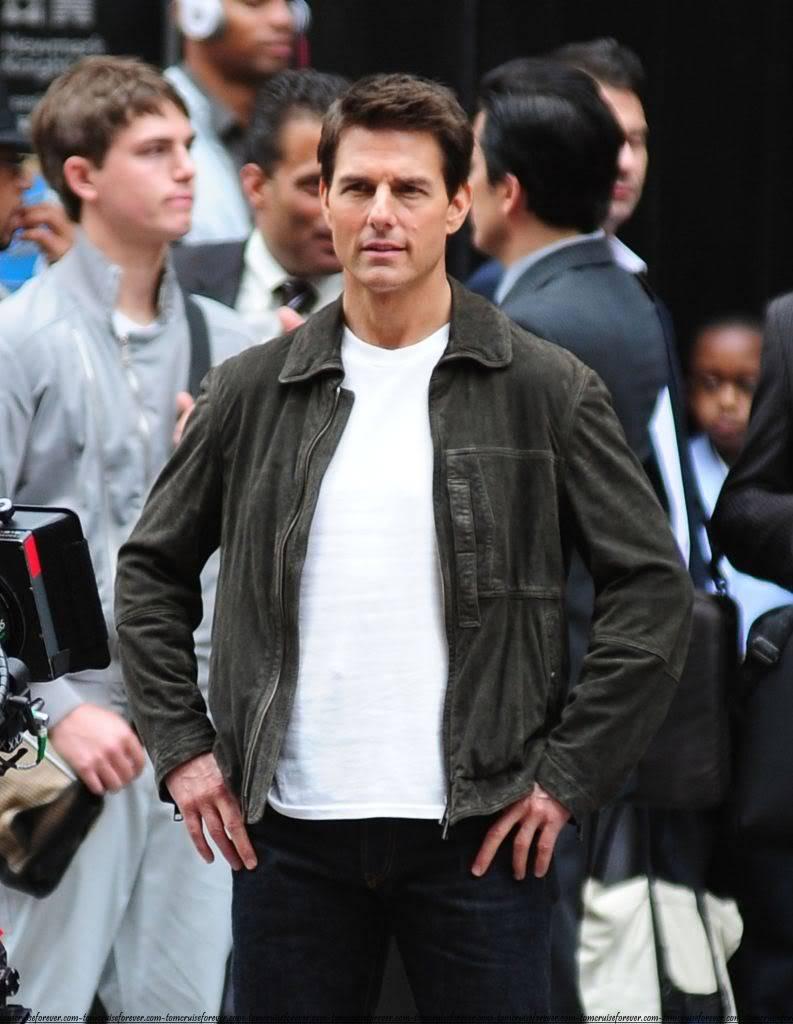 Oblivion Burberry Jacket Tom Cruise