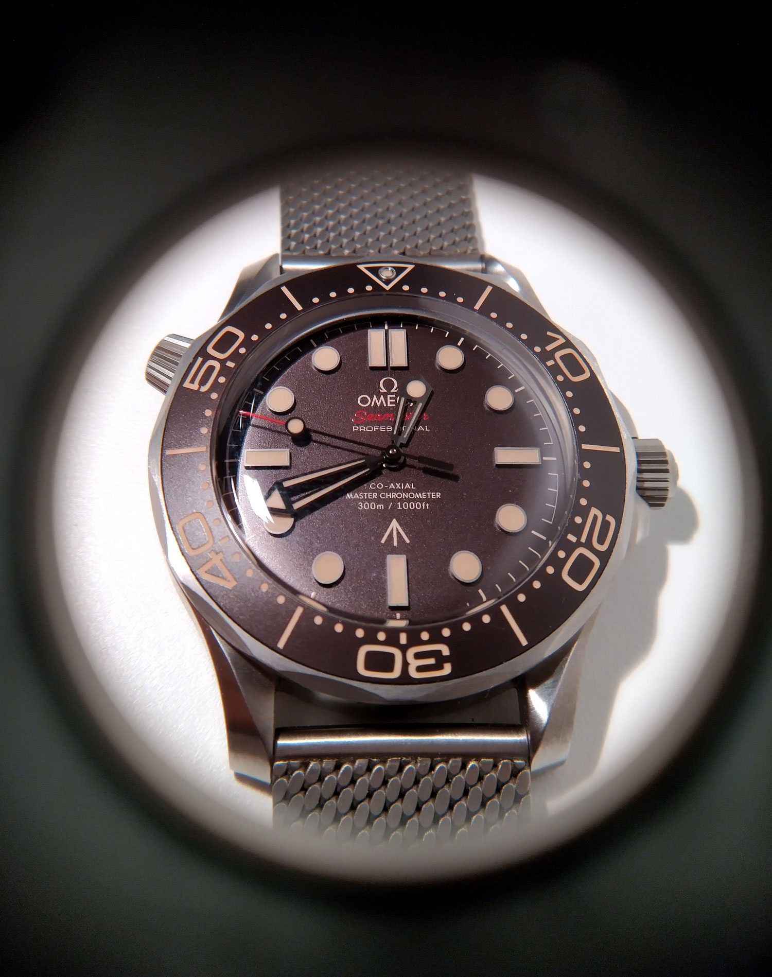 OMega seamaster No Time to Die