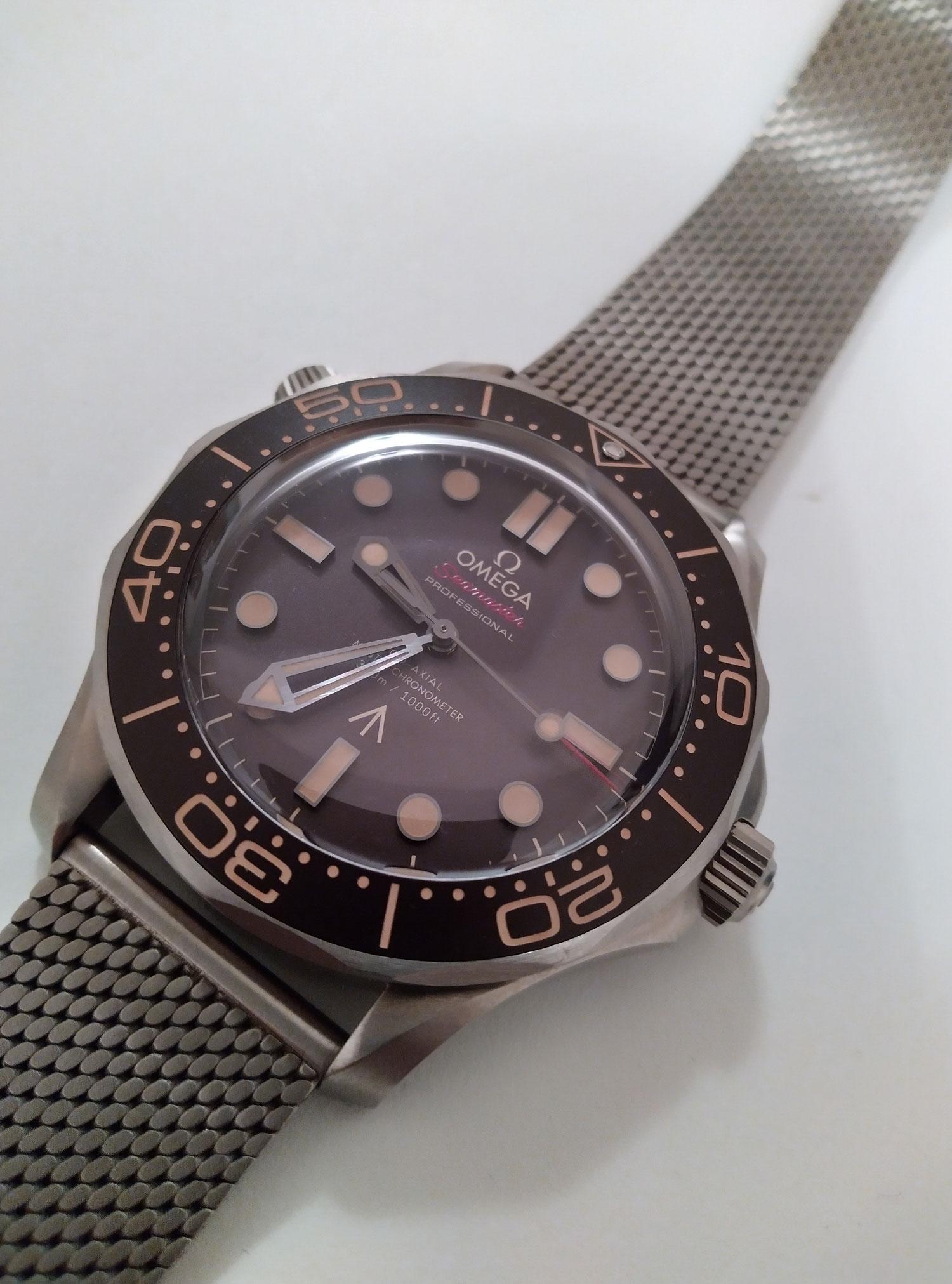 Omega Seamaster 300M dial