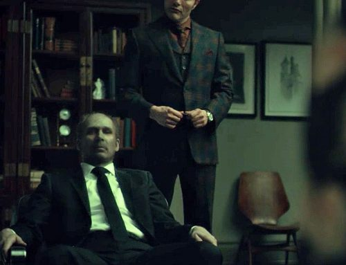 Hannibal's Bison Orange Shirt for a Flash back with Abigail | #09