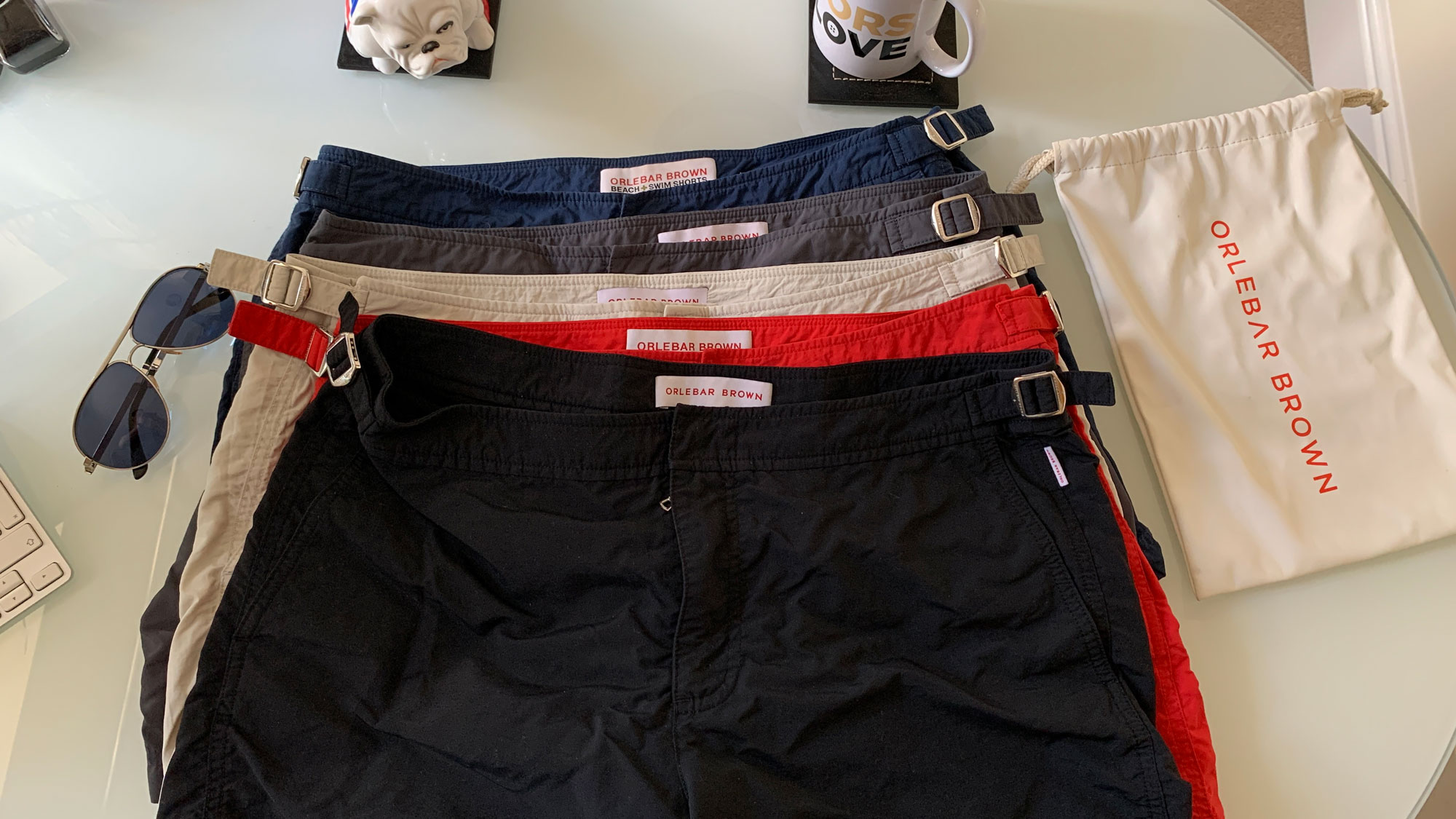 Setter Shorts collection flatlay