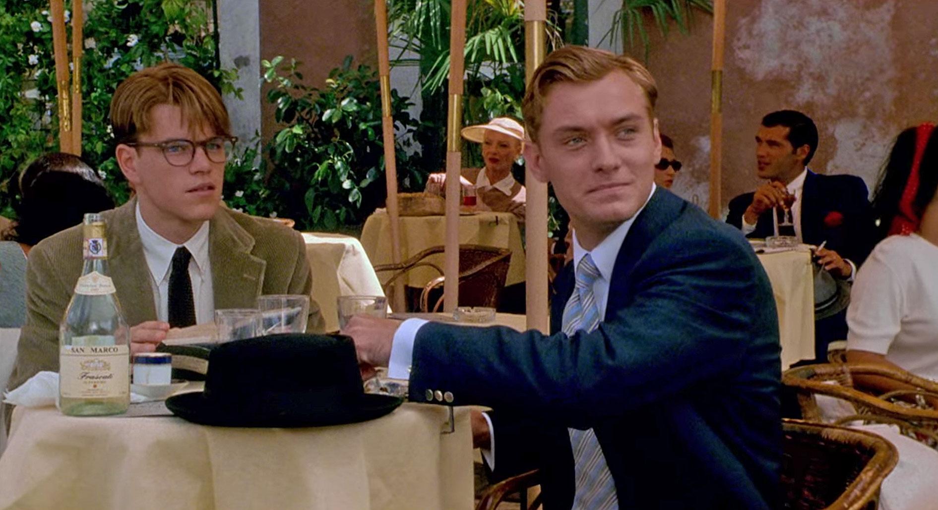 The Talented Mr Ripley Jude Law and Matt Damon