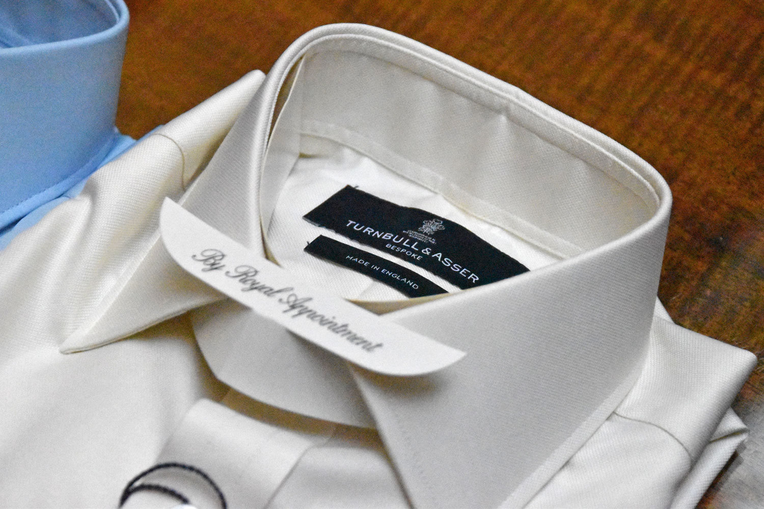 bespoke shirts by royal appointment