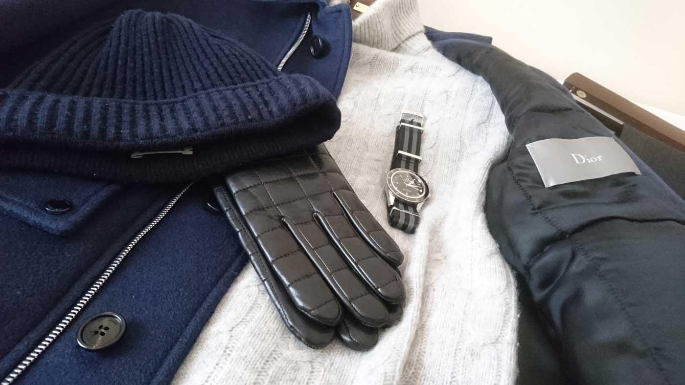 Dior Jacket James Bond ensemble