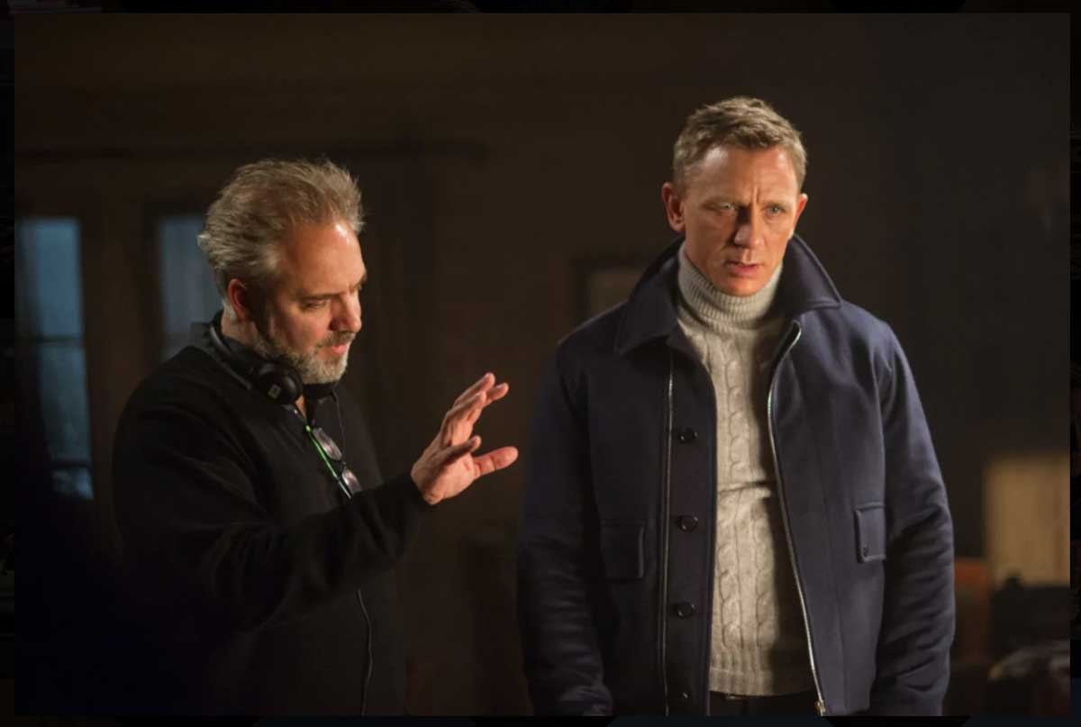 Daniel Craig Spectre Roll Neck