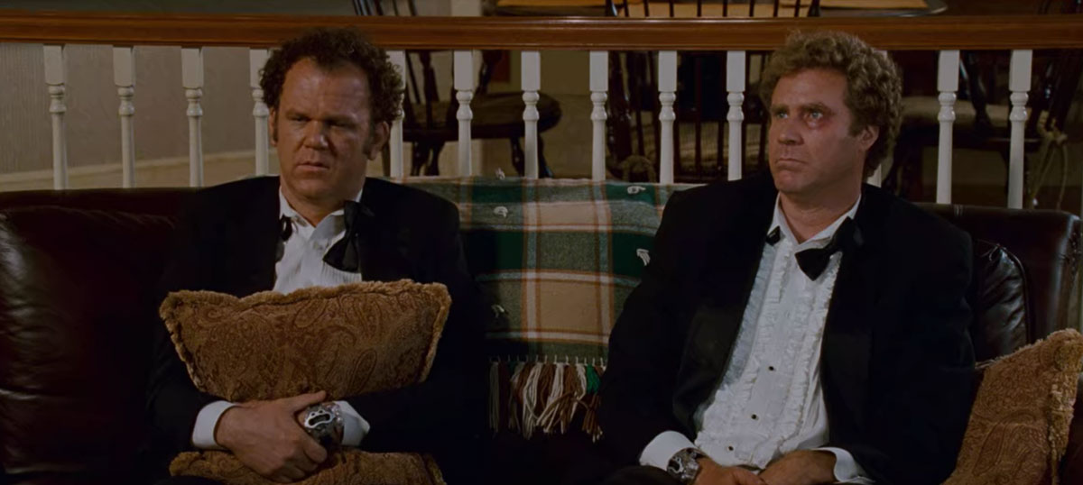 Step Brothers tuxedos