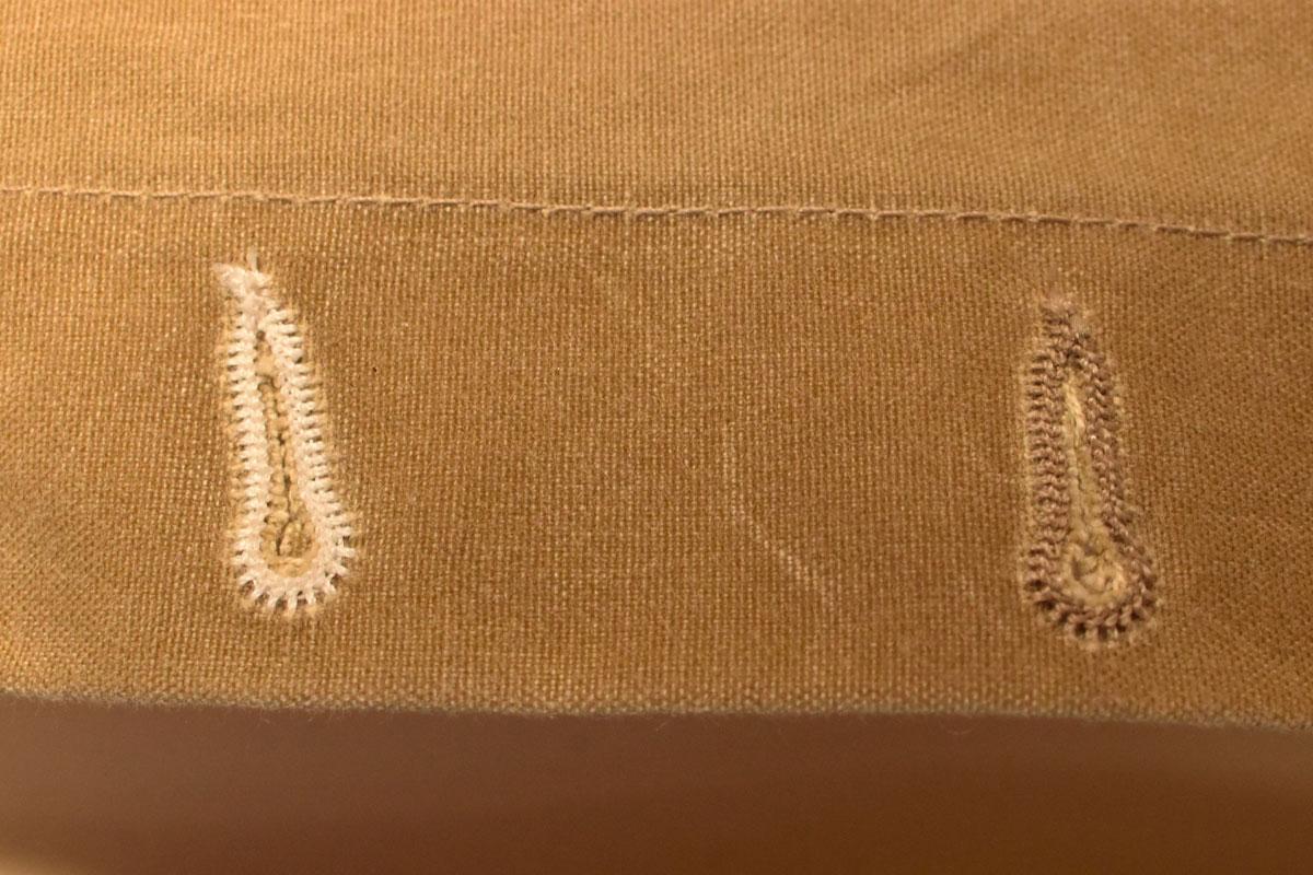 Rogue Territory stitching