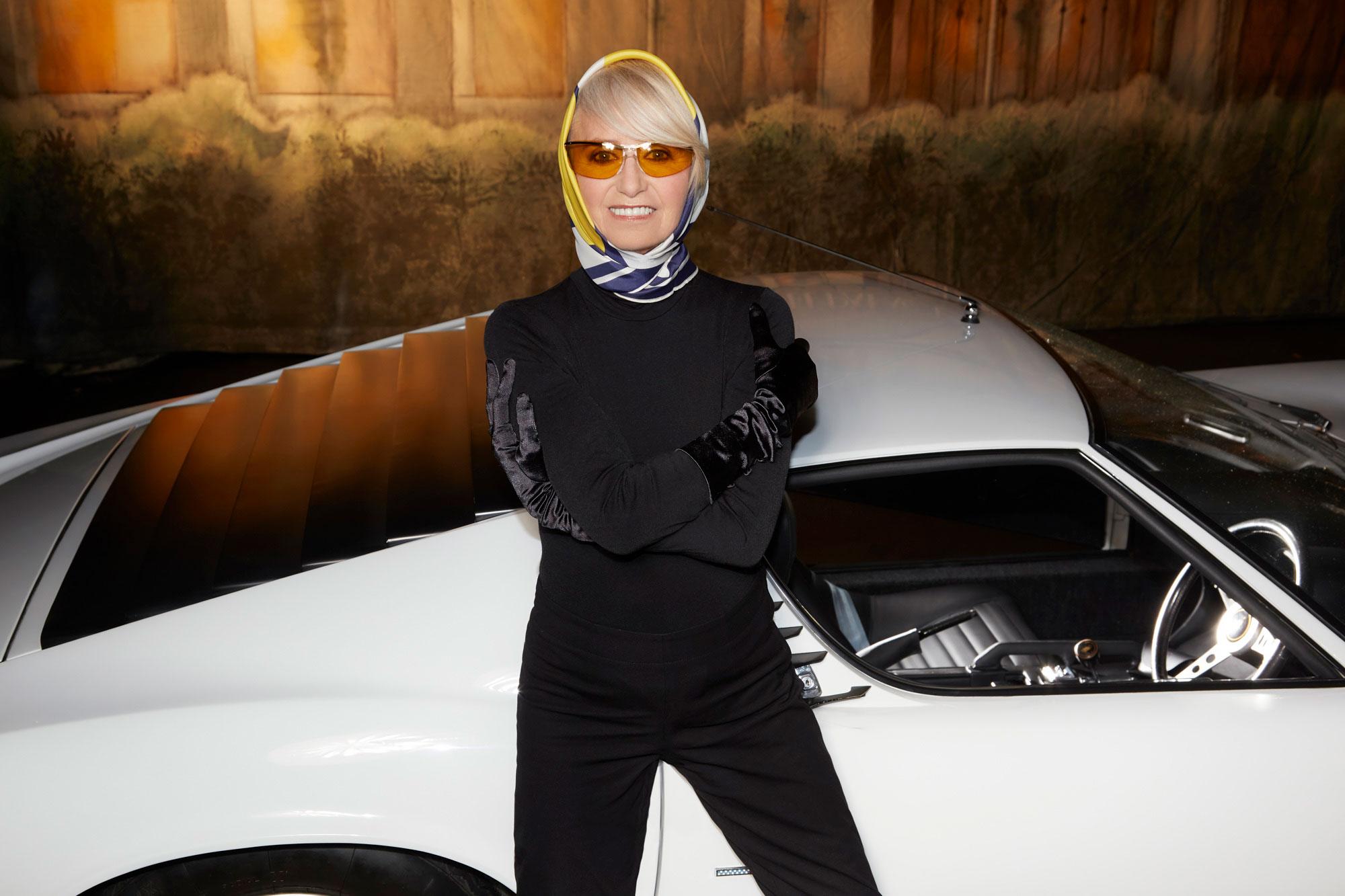 Susan George Wearing Renauld Sunglasses