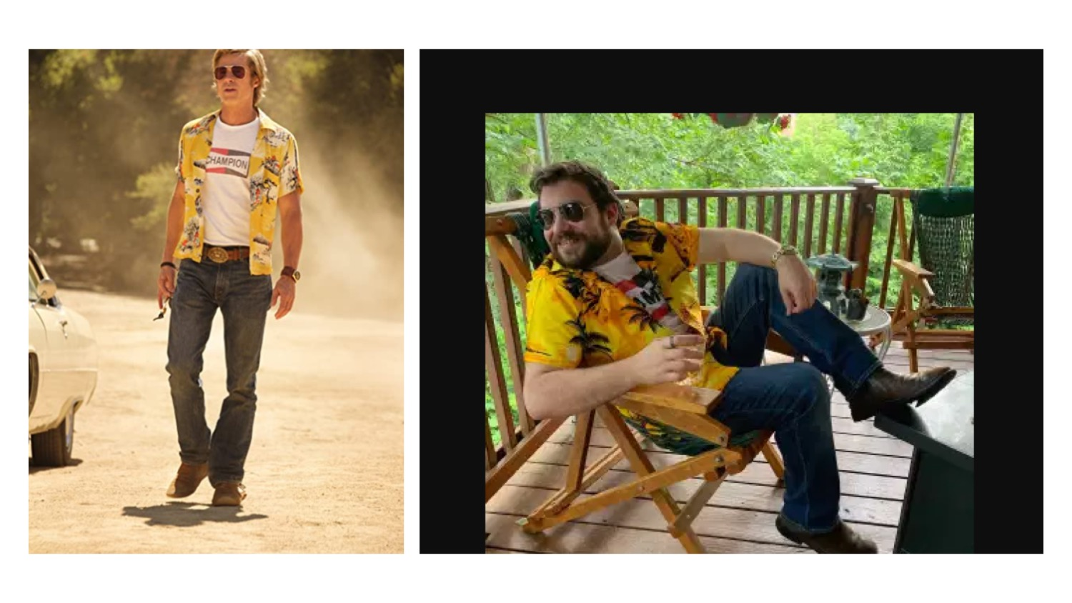 Once Upon a Time in Hollywood get the look