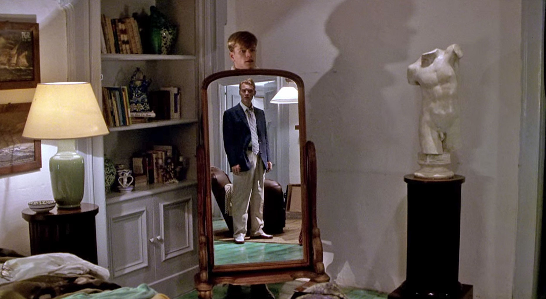 The Talented Mr Ripley mirror scene