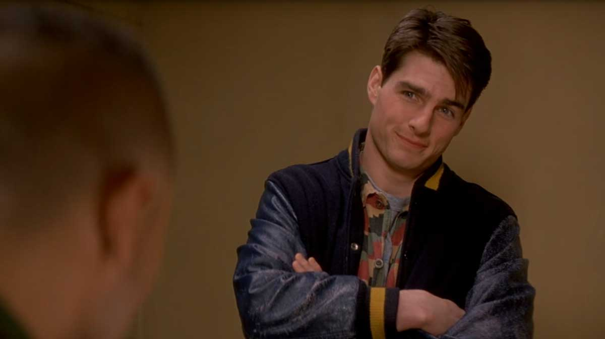 A Few Good Men Tom Cruise Varsity Jacket