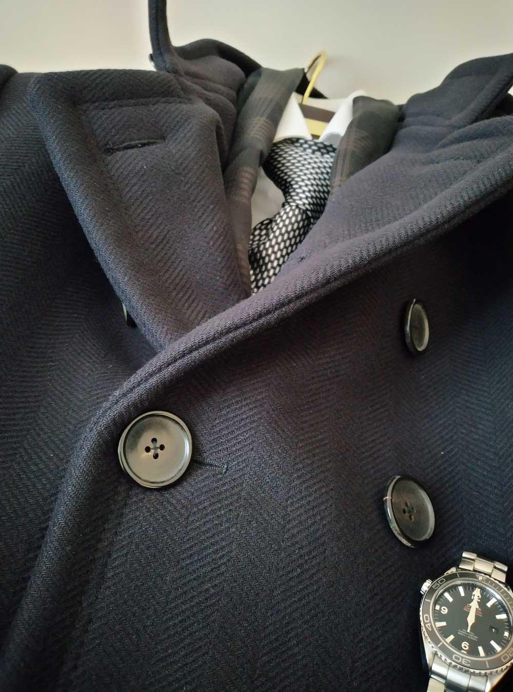 Quantum of Solace coat and tie