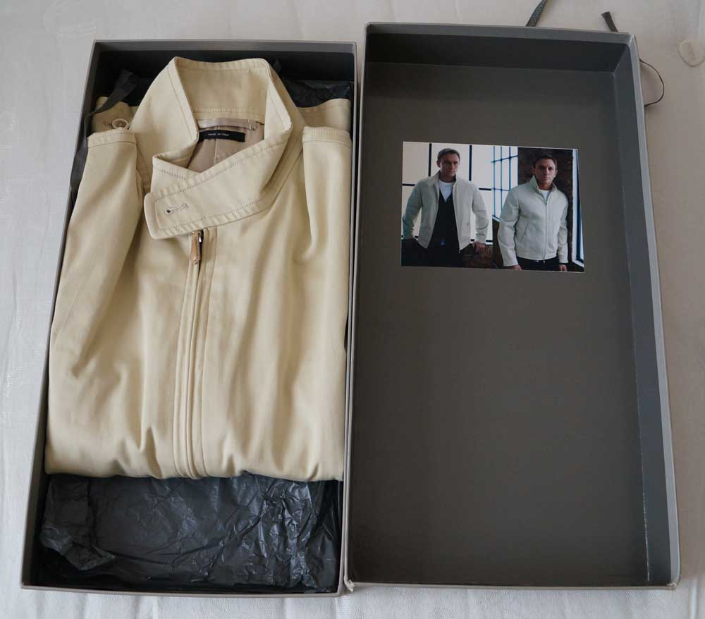 Harrington Jacket unboxing