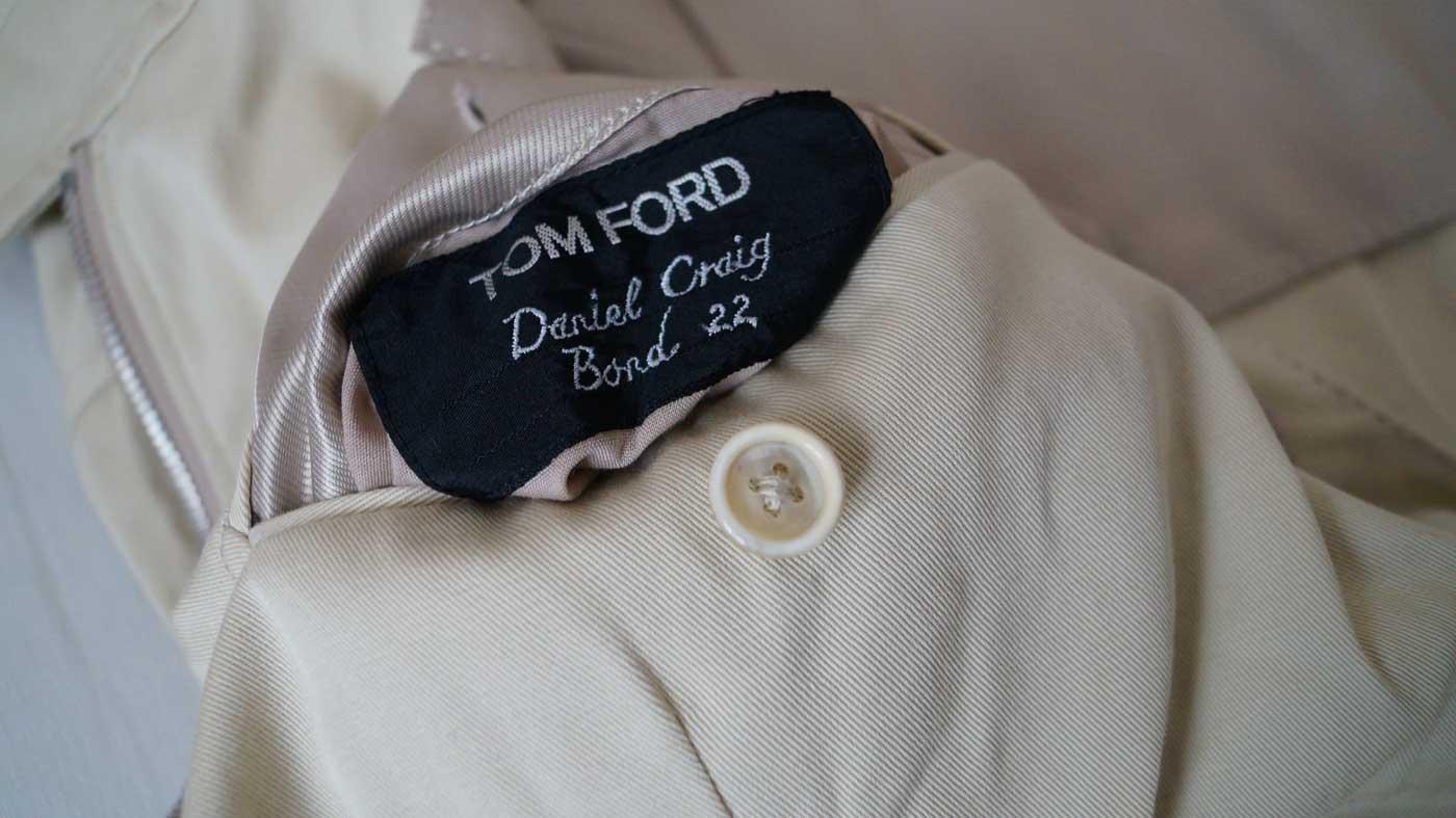 Harrington Jacket label bond 22