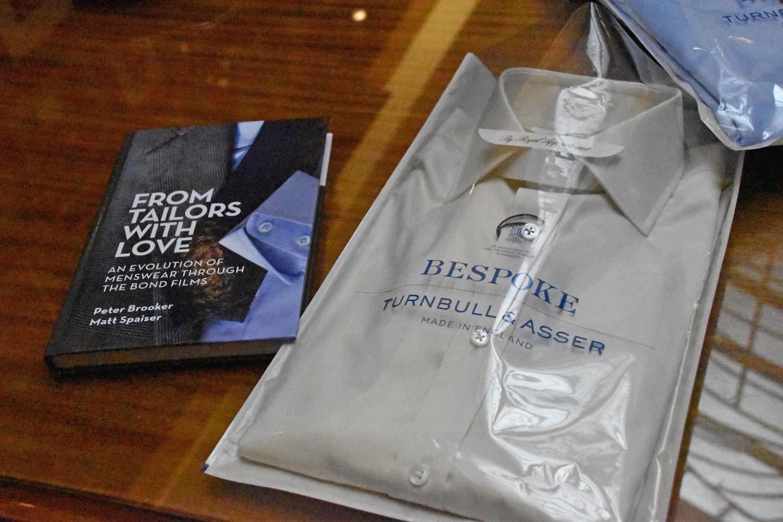 bespoke shirts at Turnbull & Asser