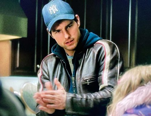 War of the Worlds – Tom Cruise's Bison Leather Motorcycle Jacket